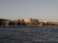 Palacio Dolmabache atardecer