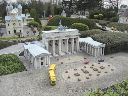Puerta de Brandeburgo - Mini Europe