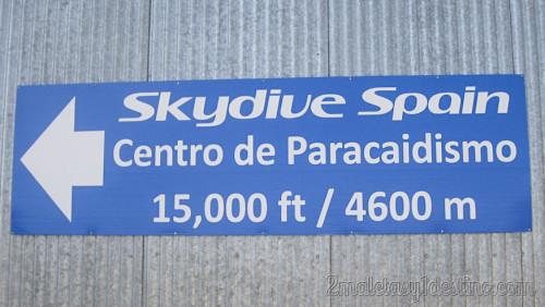 Skydive Spain - Centro de paracaidismo