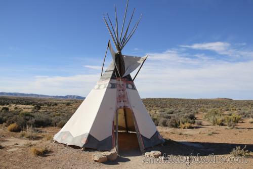 Tienda indios Hulapai