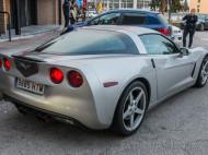 Trasera Chevrolet Corvette C6