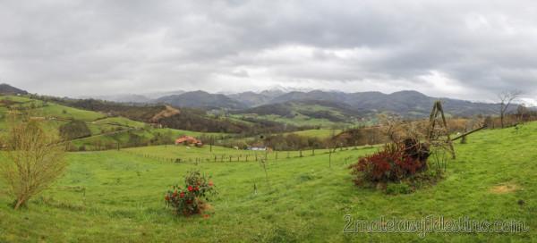 Vista panorámica Picos de Europa