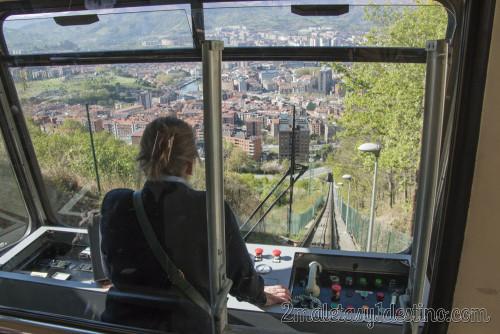 Cabina del Funicular de Archanda
