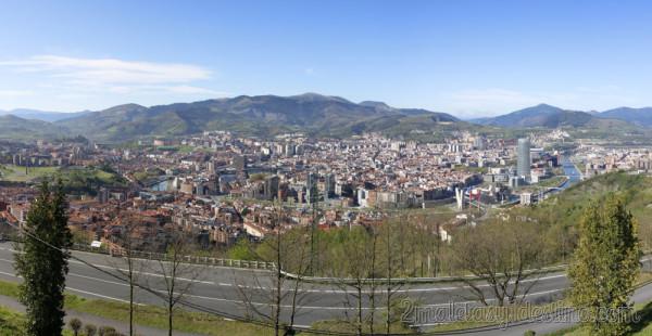 Panorámica Bilbao desde Artxanda