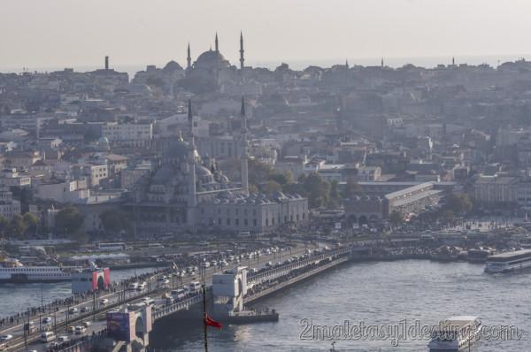 Puente de Galata, Bazar Especias y Mezquita nueva