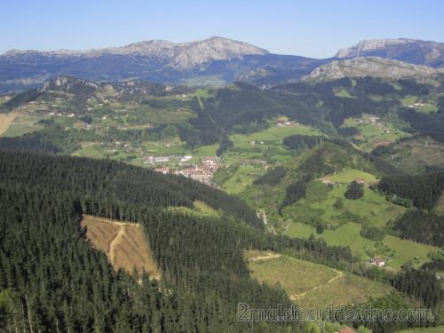Vistas desde Monte Gorbea