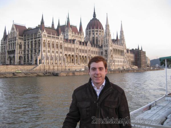 Alfonso Eguino en el Parlamento Budapest