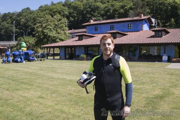 Alfonso Eguino descenso cañones