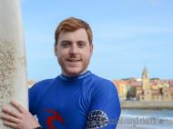 Alfonso Eguino bautismo de surf