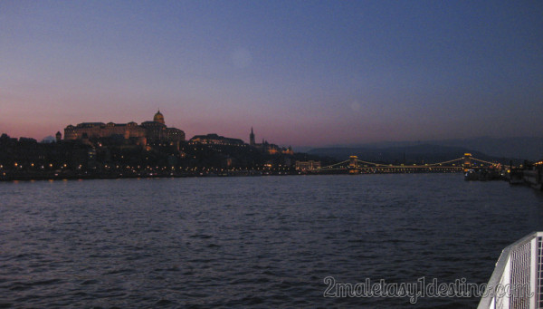 Atardecer Danubio Palacio Real