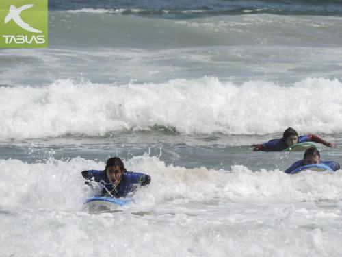Bautismo de Surf en Gijón