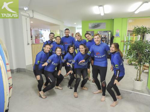 Bautismo de surf bloggers viajes #TBMGijón