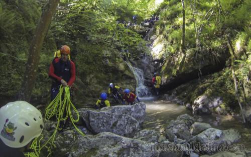 Descenso de cañones y barrancos en Asturias