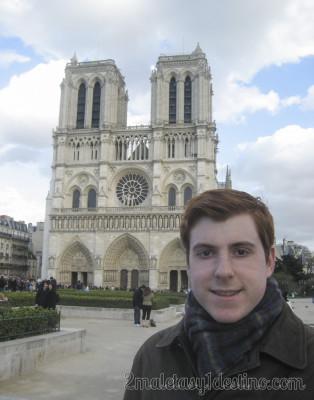 Eguino en Notre Dame