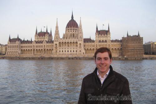 Eguino en Parlamento de Budapest