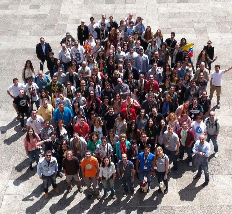 Foto grupo bloggers TBMGijón