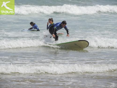 Gonzalo Iza bautismo surf Gijón