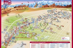 Mapa ruta bus turístico Las Vegas