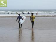 Surf en la Playa San Lorenzo