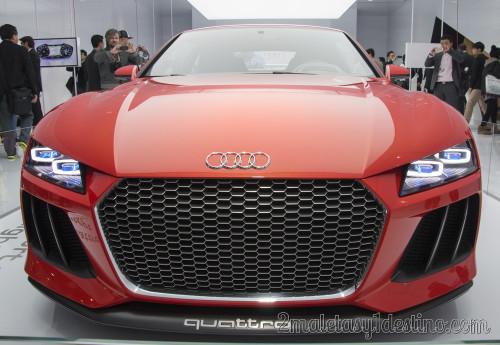Audi Sport Quattro Laserlight Concept CES Las Vegas 2014