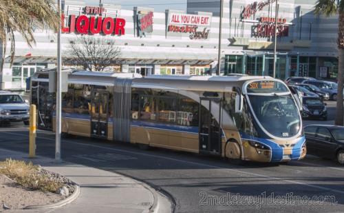 Autobús público Las Vegas