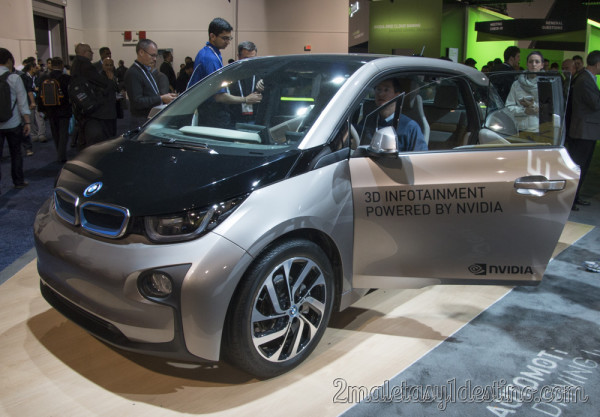 BMW i3 Nvidia
