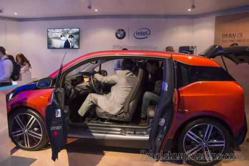 BMW i3 stand Intel