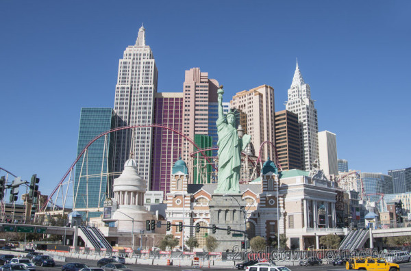 Hotel New York New York en Las Vegas