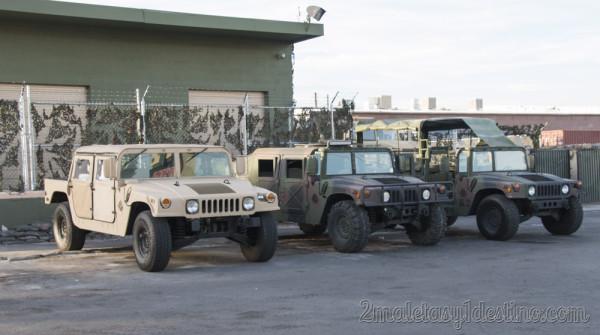 Humvee ejercito americano Las Vegas