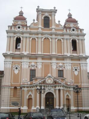 Iglesia de San Casimiro de los Jesuitas en Vilnius