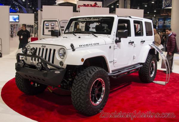 Jeep Wrangler Rubicon JVC 2014