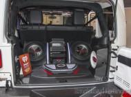Jeep Wrangler Rubicon - Sistema de sonido JVC