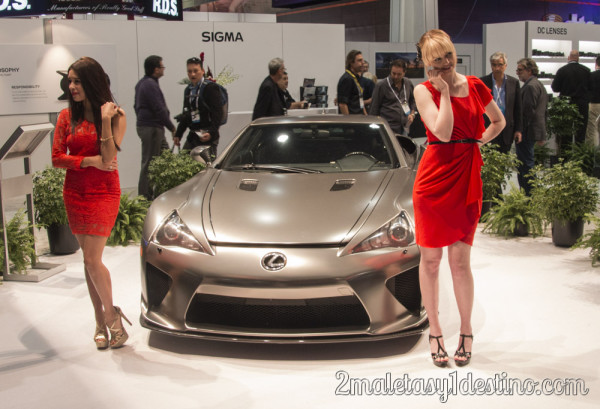Lexus LFA CES Las Vegas 2014