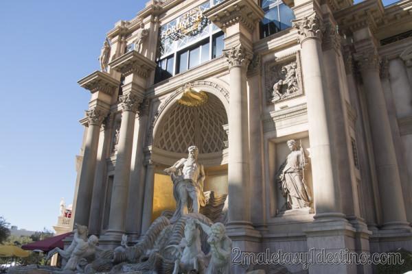 Réplica de la Fontana di Trevi Las Vegas