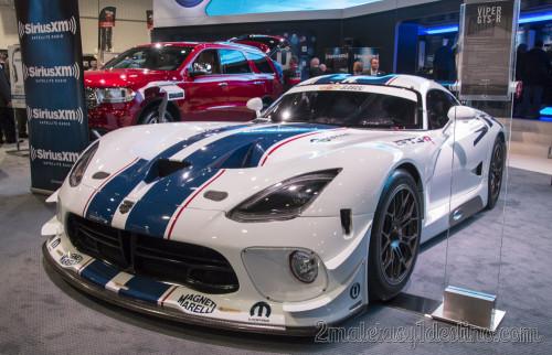SRT Viper GTS-R CES Las Vegas 2014