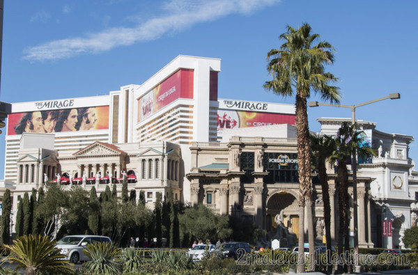 The Forum Shops at Caesars y Hotel Mirage