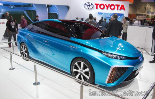 Toyota FCV Concept de Hidrógeno