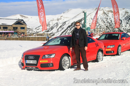 Alfonso Eguino Audi Driving Experience