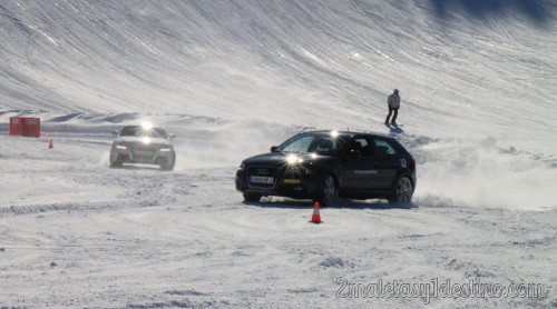 Audi A3 derrapando en Grandvalira