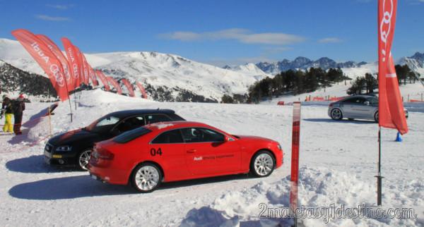 Audi Driving Experience en la Estación de Esquí de Grandvalira (Andorra)