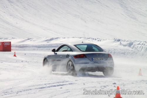 Audi TT estación esquí Grandvalira
