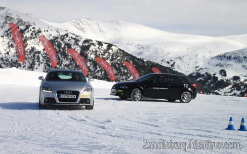 Audi TT y A3 Granvalira