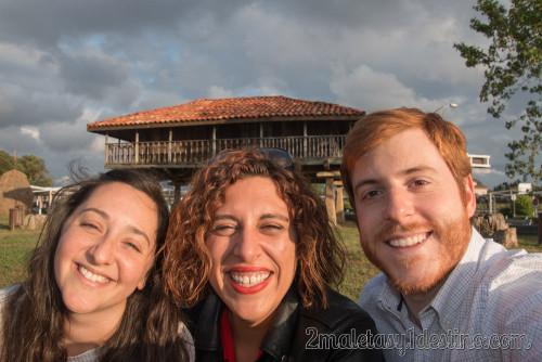 Marta Bonet, Eguino y Vanina en Asturias