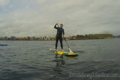 Alfonso Eguino paddle surf