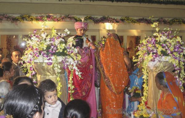 Mujeres con sari