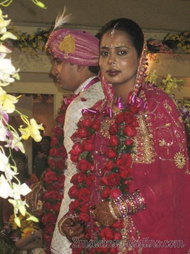Novia boda india