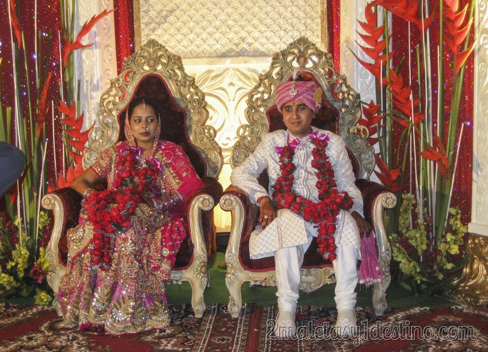 Novios boda India