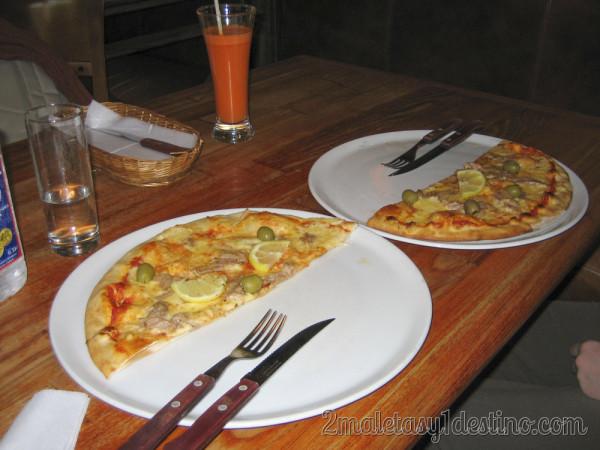Pizza en Cili Pica
