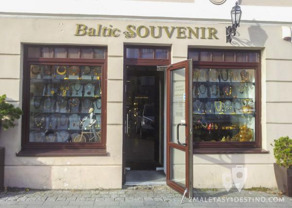 Tienda de Ámbar en Vilnius