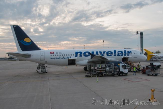 Airbus A320-232 (TS-INS) Nouvelair Tunisie